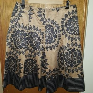 Talbots collection silk skirt size 12